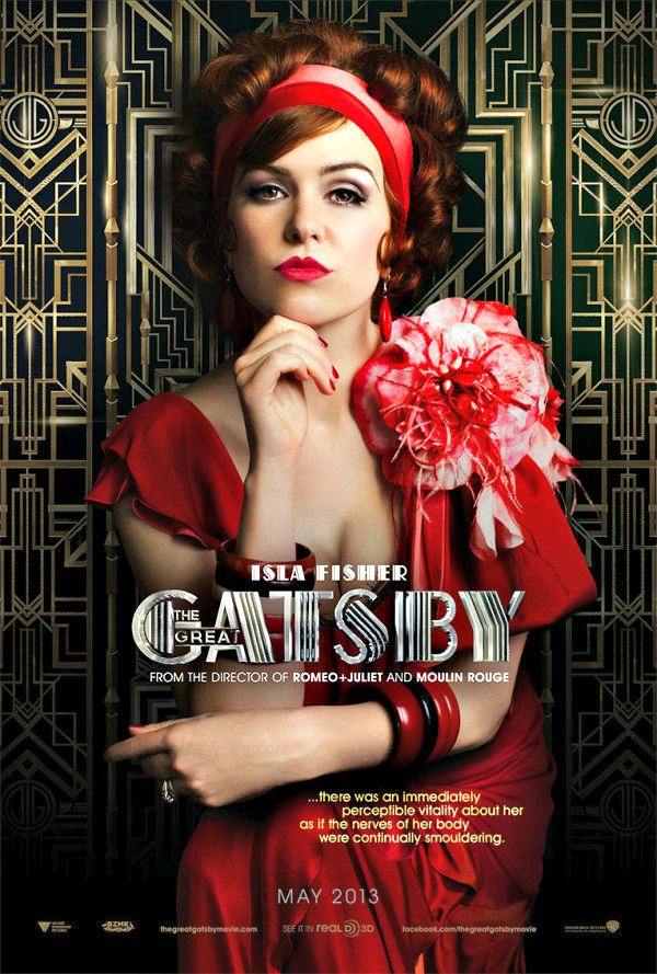 First look: Isla Fisher and Tobey Maguire film The Great Gatsby recommendations
