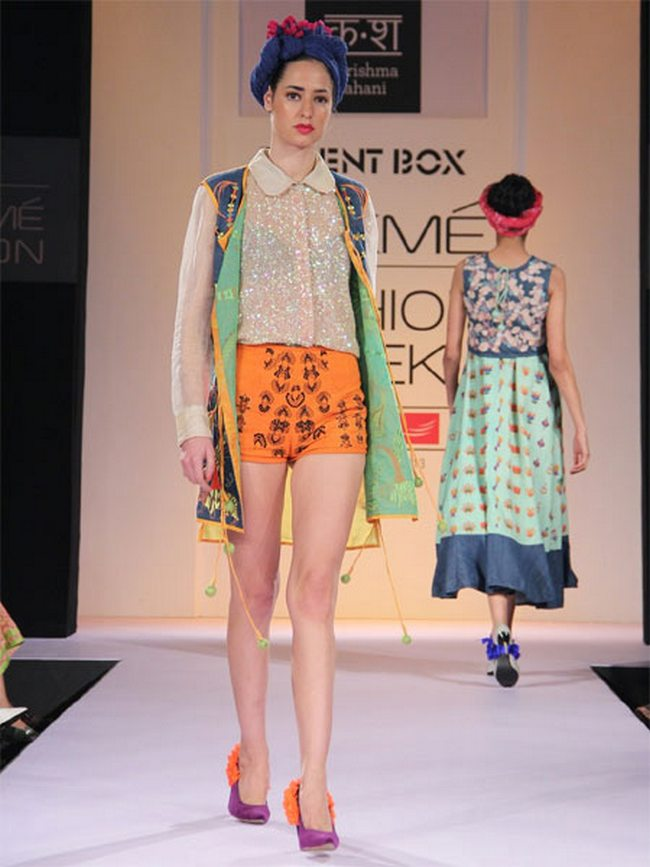 If you are looking for brights in your spring-summer wardrobe, then you are going to love the colour trends on the on-going Lakme Fashion Week Summer Resort ramp. It's bright, girly pinks and atomic orange all the way! So use them as highlights or go all out and colour up with these gorgeous summery shades. Check out how to look funky in these hip colours for the season.
