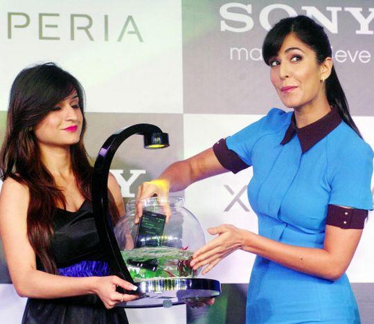 Katrina creates suspense around Sony Xperia Z.