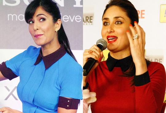 Katrina Kaif and Kareena Kapoor Khan