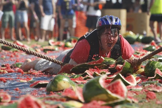 Chinchilla Watermelon Festival in AustraliaPhoto credit: Getty Images