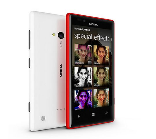 Nokia Lumia 720 supports GPRS, NFC, EDGE and all the other standard connectivity options.