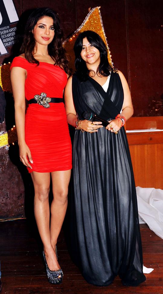 Priyanka Chopra, Ekta Kapoor