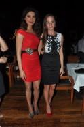 Priyanka Chopra with Cecilia Oldne, Head - International Business, Global Brand Ambassador - Sula Vineyards