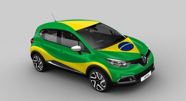 Renault Captur Brazil version