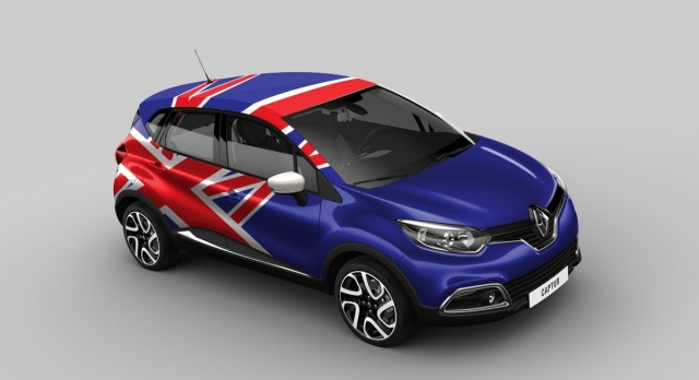 Renault Captur Britain version