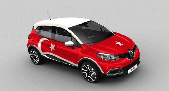 Renault Captur Turkey version