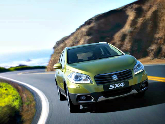 Suzuki presented its all-new SX4 Crossover at the 83rd Geneva International Motor Show.