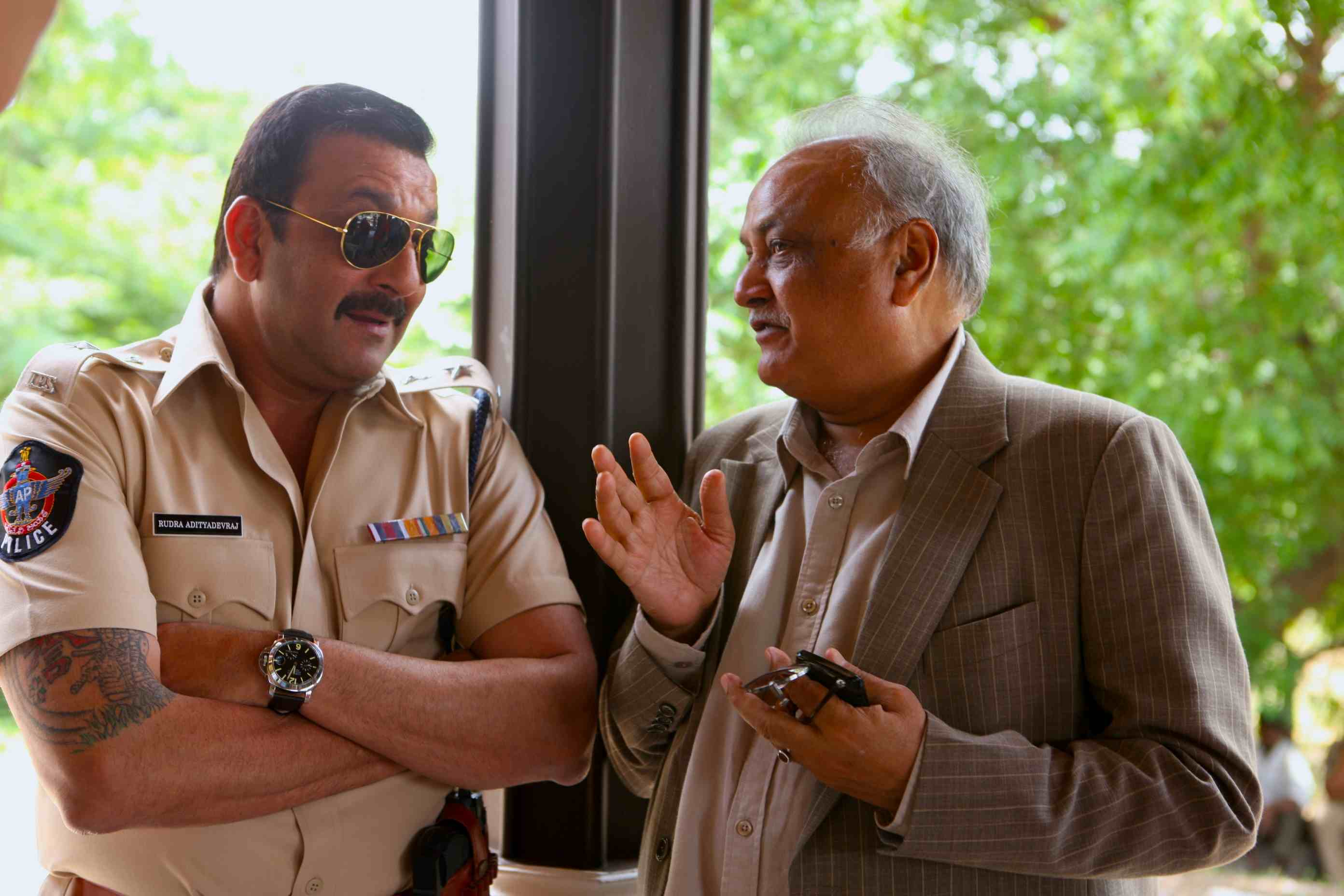 The makers of Sanjay Dutt's Policegiri have issued a statement in support of the actor, who has been sentenced to five years imprisonment in the Bombay Blasts case. Policegiri is almost complete and producers TP Agarwal and Rahul Agarwal said,