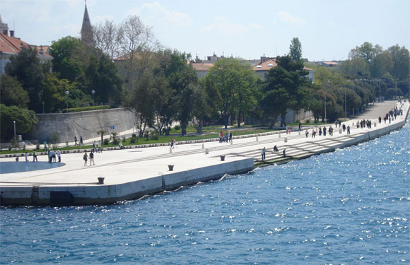 The Sea Organ of Zadar - Just when we thought we're capable of harnessing the waves to produce electricity, these Croatian chaps wield the power of tidal waves to create music! Working on principles similar to that of any wind instrument, the project consisted of digging 35 tubes on the surface that open into the sea. The crashing of the waves against the shores creates drone-like harmonic sounds bringing the whole shore to life! As poetic as it may seem, the sea does talk to you!