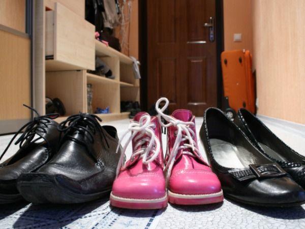 Let your shoes breathe