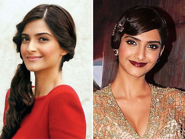 Sonam Kapoor: Sonam is known for her loud make up. We wish someone could explain to her that subtle is the key.