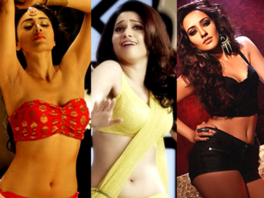 The hot girls down South have time and again set the Bolly screens  afire! Here's checking out such irresistible bombshells from recent  times...