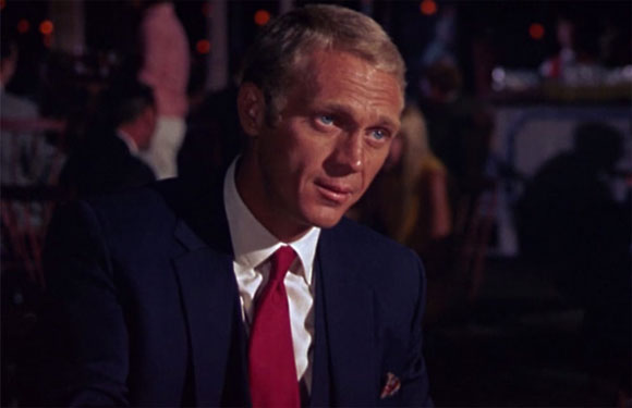 Steve McQueen as Thomas Crown