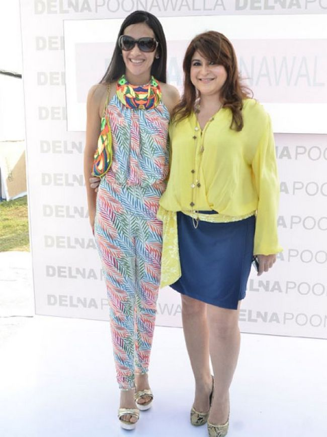 Tara Sharma and Delna Poonawalla