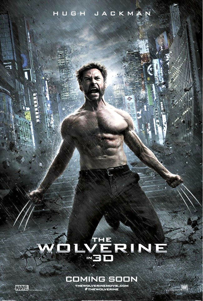 The sixth installment in the X-Men film series, The Wolverine features Marvel Comics character Wolverine reprised by Hugh Jackman.