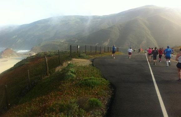 Big Sur International Marathon, Carmel, Calif