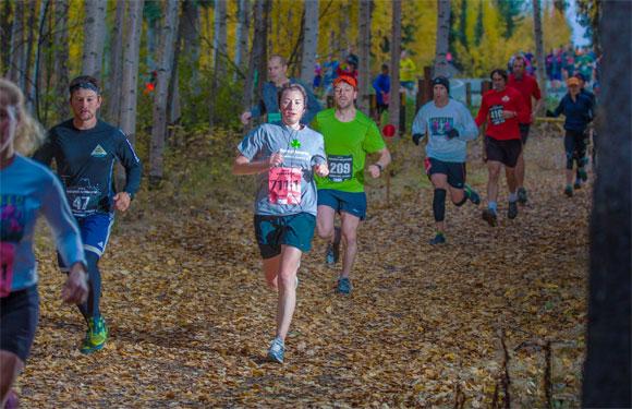 Equinox Trail Marathon, Fairbanks, Alaska