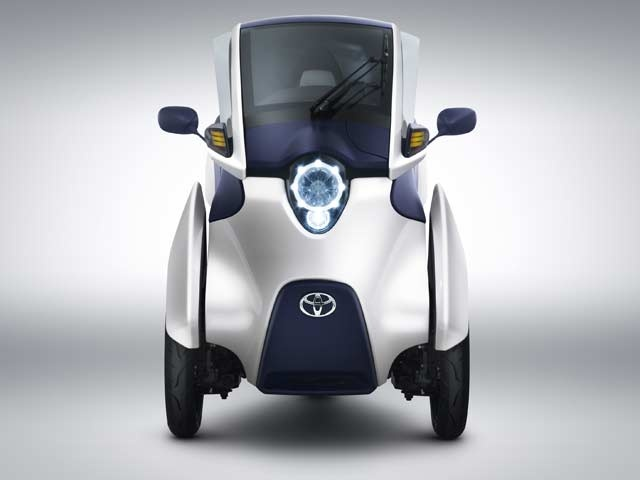 Toyota i-ROAD personal mobility vehicle (PMV)