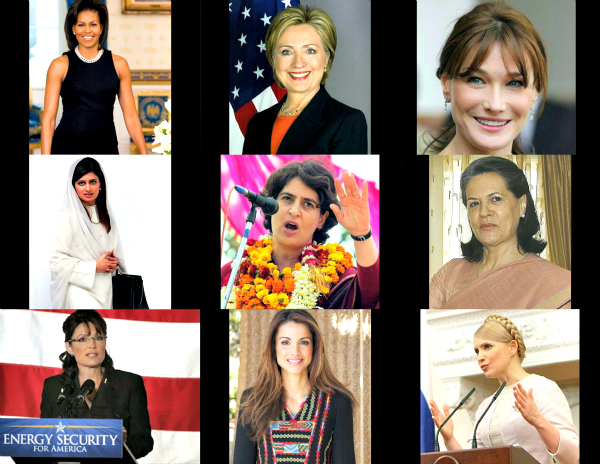 Women power has unleashed itself with full force on the political front. They have made a huge impact, thanks to their political acumen. And some of these women have created quite a buzz on the style front too. In fact, Fashionistas have given them 10/10 most of the times on the style front. Take a look...