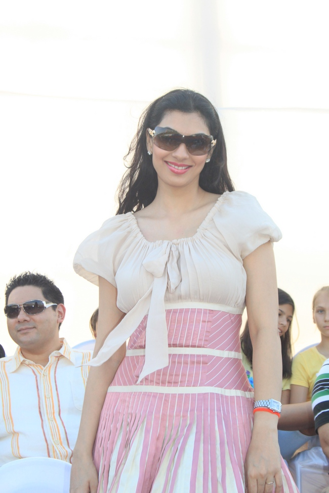 Former Miss World Yukta Mookhey was seen at the polo match organised by Argentine Consulate in association with Sula Selections in Mumbai.