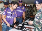 IPL PICS: Gauti, Yusuf, Lee with CRPF Jawans