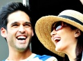 Cute IPL PICS: Preity and Mallya Jr.