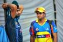 Suresh Raina and Harbhajan Singh