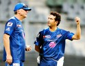 Sachin Tendulkar and John Wright