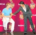 Shah Rukh Khan and Brett Lee