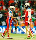 Chris Gayle and Tilakratne Dilshan