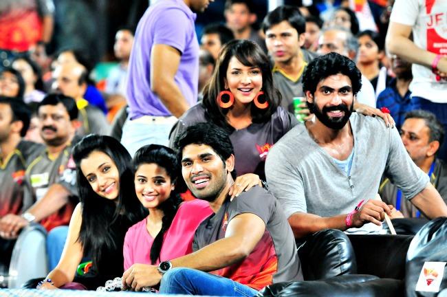 Trisha, Priyamani, Lakshmi, Allu Sirish and Rana Daggubati