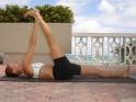 Back Pain: 20 Yoga Poses for Backache : Supth padangushtasana