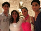 Gauri Khan, Aryan Khan