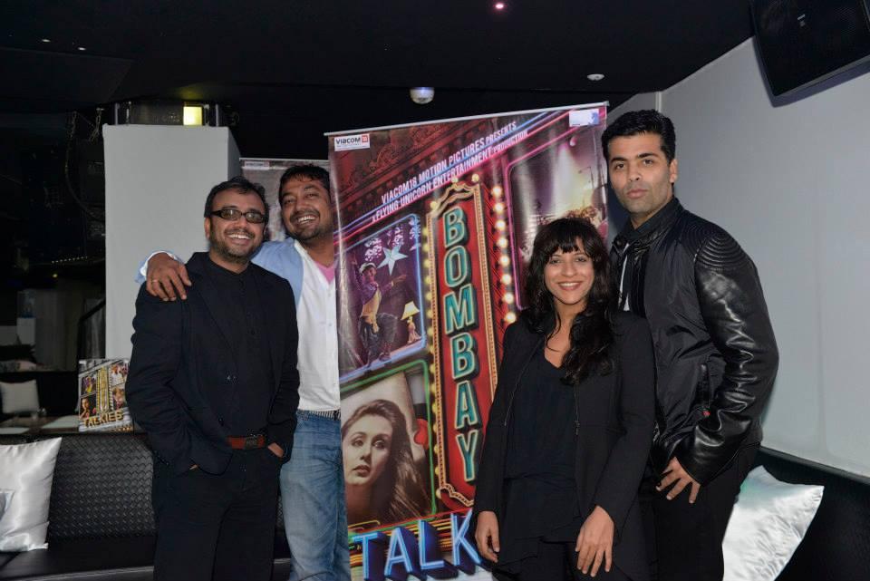 Dibakar Banerjee, Zoya Akhtar, Karan Johar, Anurag Kashyap