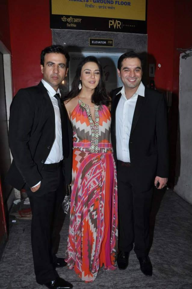 Rhehan Malliek, Preity Zinta