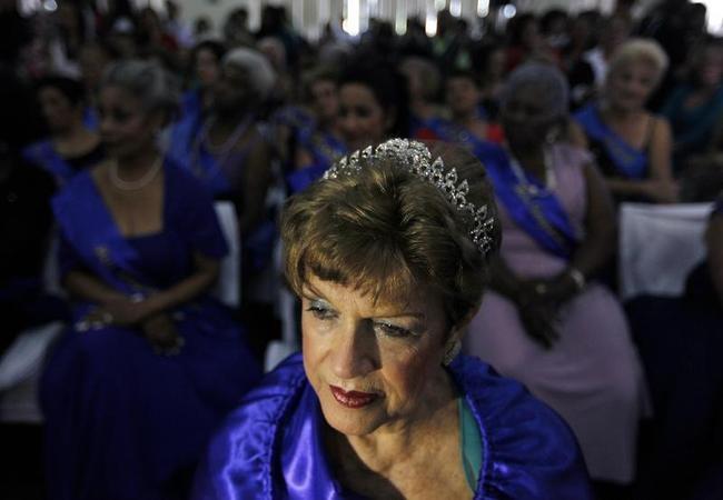 Elderly Women Beauty Contest
