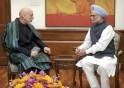 Meeting Afghanistan President Hamid Karzai