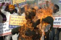 Sikhs Protest Against Government: PICS