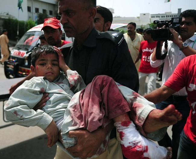 essay on bomb blasts in pakistan