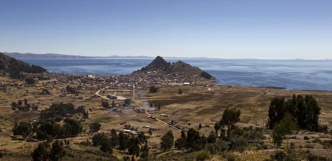 Serene Lake Titicaca