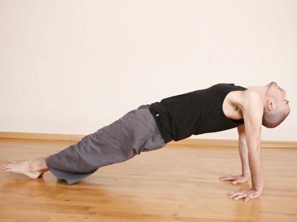Back Pain: 20 Yoga Poses for Backache : Purvottanasana (upward plank pose)