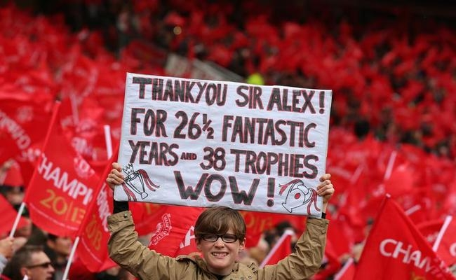Farewell to Sir Alex Ferguson