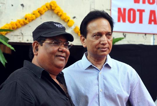 Satish Kaushik, producer Ratan Jain