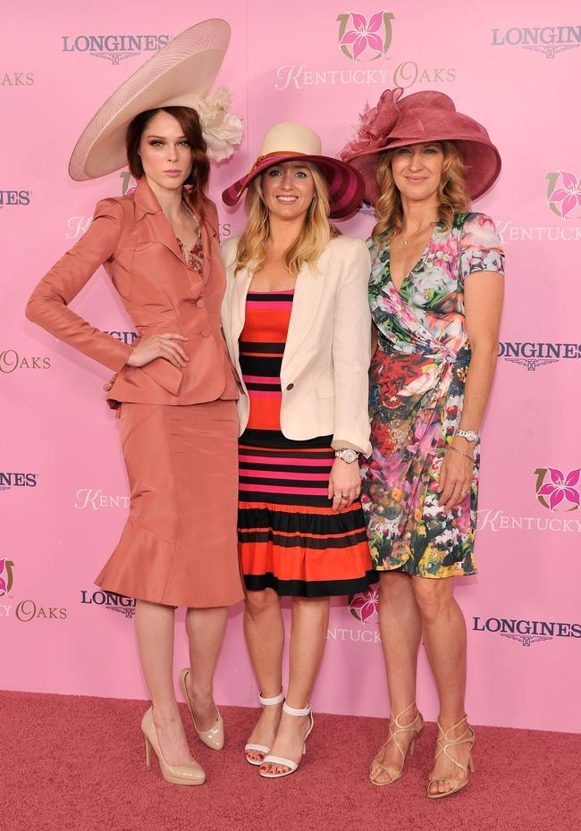 Steffi Graf, Coco Rocha and Joyann King