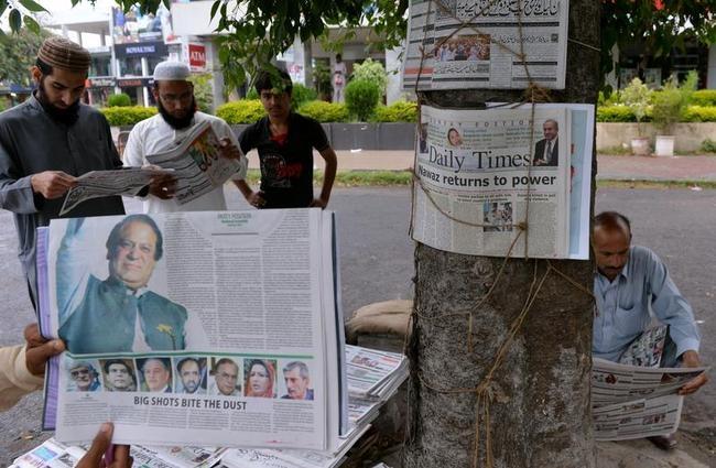 Nawaz Sharif Wins Pakistani Elections: Celebration PICS