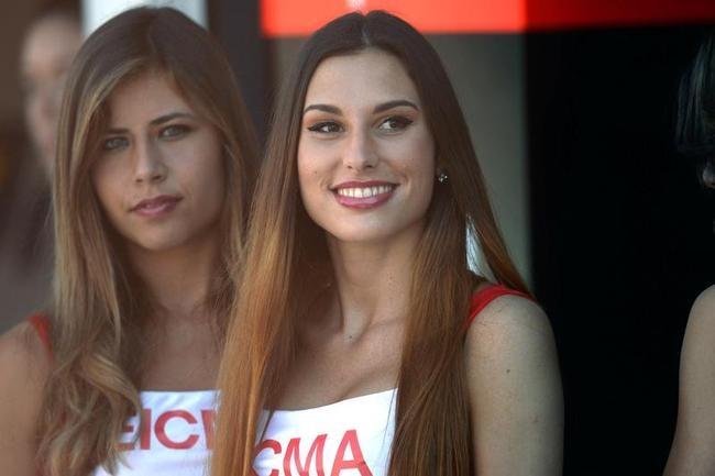 Grid Girls at World Superbikes