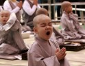 Cute Kids Become Buddhist Monks