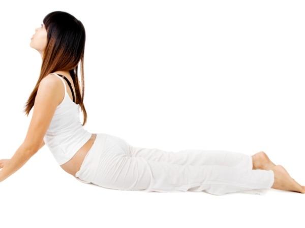 Back Pain: 20 Yoga Poses for Backache : Bujanhgasana (cobra pose)