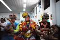 Colourful Clowns at V Laugh Festival